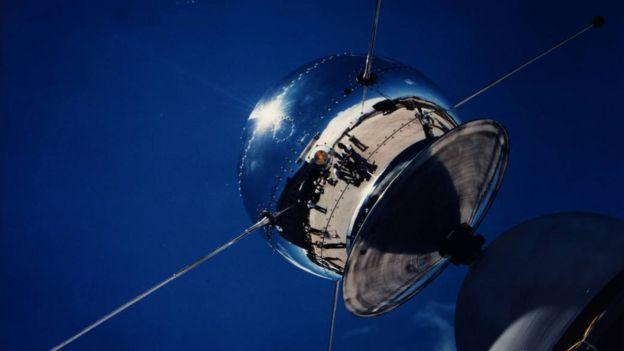 O satélite Vanguard 1