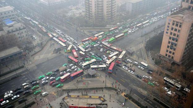 중국과 같이 빠른 속도로 산업화가 진행되고 있는 곳에서는 자동차 소유자들 역시 급속도로 늘어나고 있다.