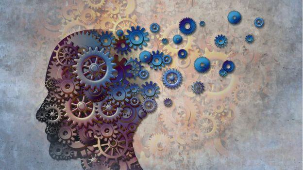cerebro, ilustración