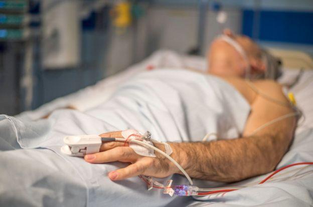 Paciente en hospital