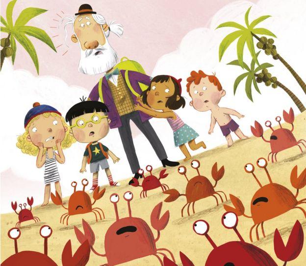 Crabs illustration