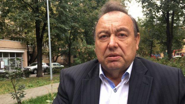 Exagente de la KGB Gennady Gudkov.