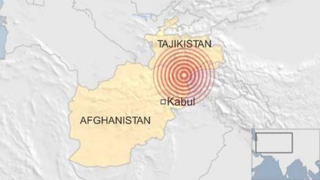 Afghanistan earthquake shakes major cities - BBC News