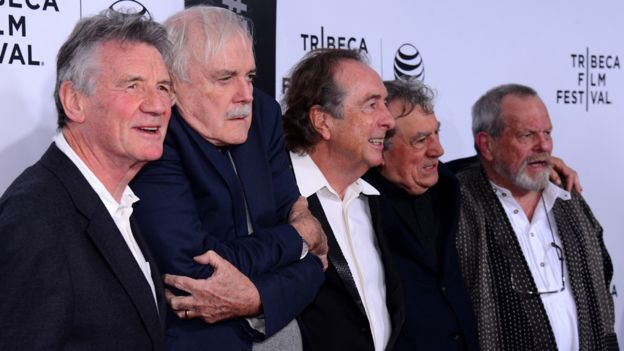 Monty Python's Terry Jones diagnosed with dementia - BBC News
