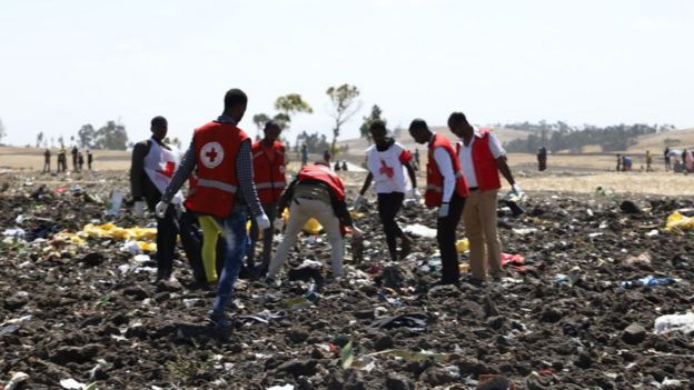 Trabajadores de la Cruz Roja