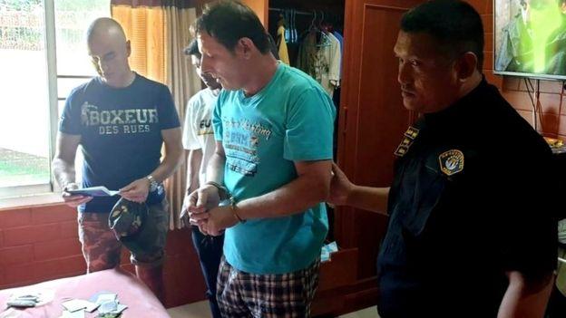 Policija je saopštila da se tereti zbog neovlašćenog korišćenja Klunijevog imena