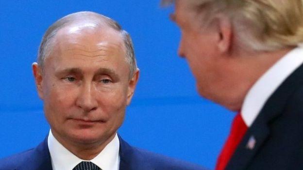 Путин и Трамп на саммите G20 в Аргентине
