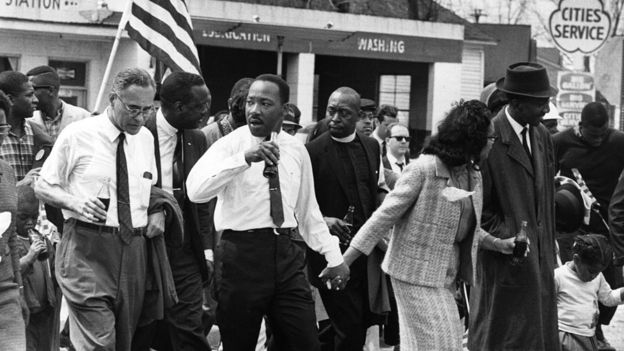 Martin Luther King at Selma