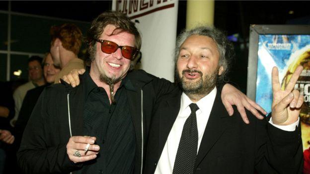 Стас Намин (справа) с Борисом Гребенщиковым в 2003 году