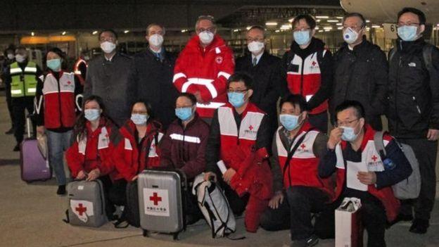 أرسلت الصين مساعدات طبية إلى دول الاتحاد الأوروبي