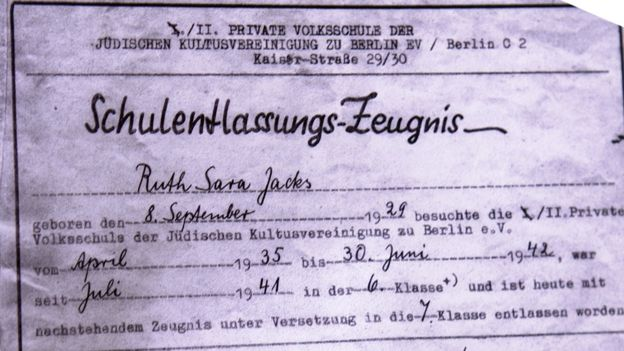 "Document with the name ""Sara"" added to Ruth's name"