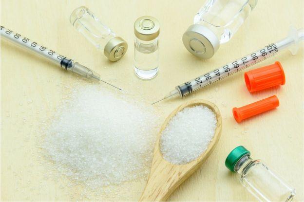 Azúcar e insulina.