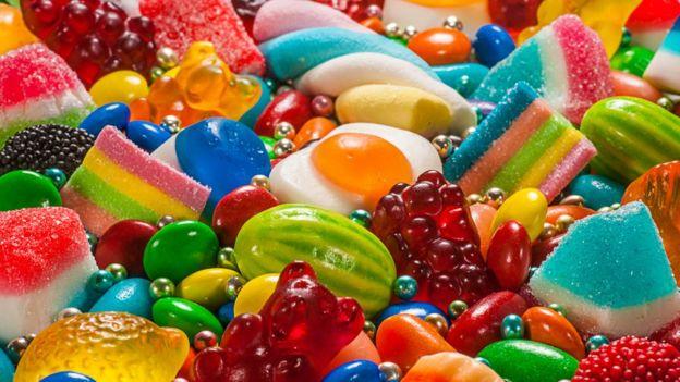 Golosinas y dulces.