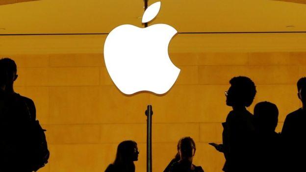 Imagem da logo da Apple