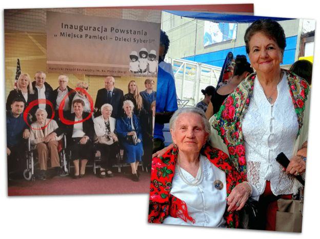Frania Pater y Valentina Grycuk en la actualidad
