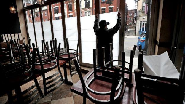 Restaurante cerrado