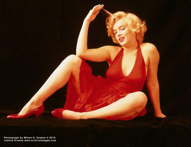 Fotografía de Marilyn Monroe hecha por Milton Green