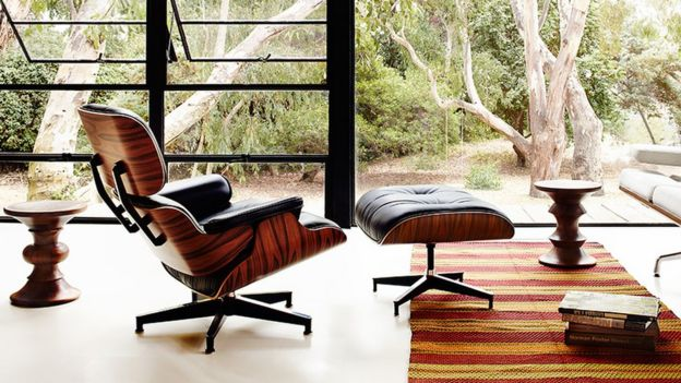 Eames lounge chair & The chair modelled on a baseball mitt - BBC News islam-shia.org