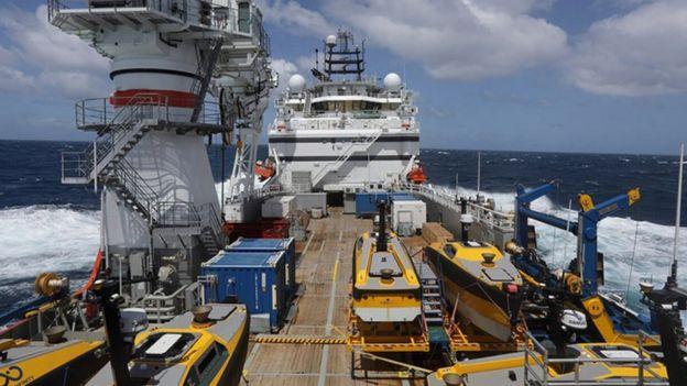 Seabed Constructor, navio usado para encontrar submarino