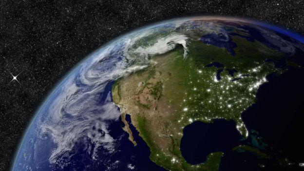 La canción Accross de Universe está viajando en el espacio destino la Estrella Polar. Foto: NASA