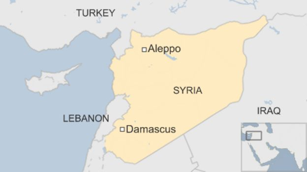 Syria conflict Rebels lose third of east Aleppo territory BBC News – Syria Map World