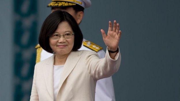 蔡英文在2016年当选台湾总统后,北京与台北的关系陷入紧张。