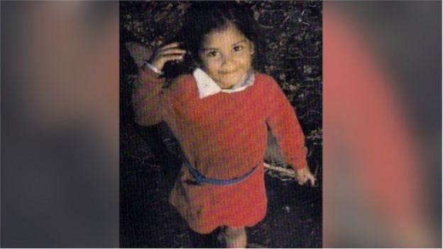 রুবি মেরি, যখন তার পাঁচ বছর বয়স