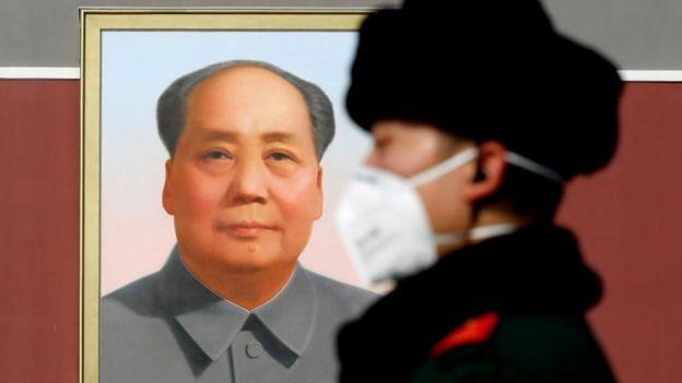 Retrato de Mao