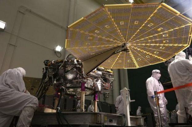 فضاپیمای 'اینسایت' راهی مریخ شد