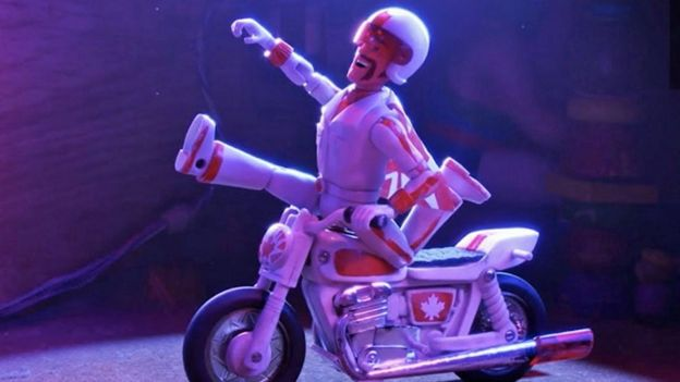 Keanu Reeves' Duke Caboom in Toy Story 4