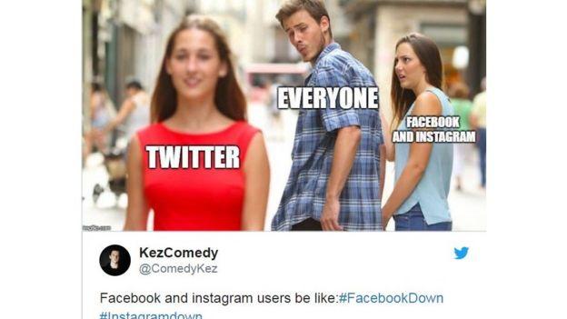 تعطل فيسبوك