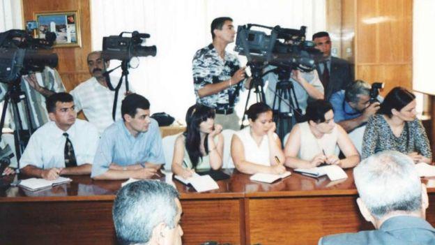 Ilhamə Qasımlı, jurnalistlər