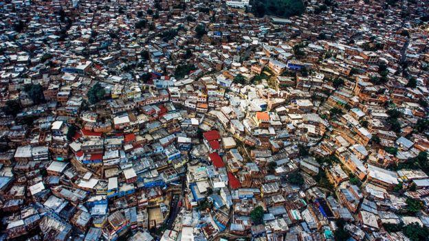 委內瑞拉首都加拉加斯的貧民聚集地