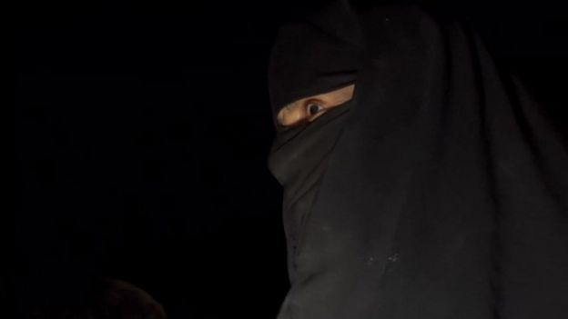 A woman with a hijab