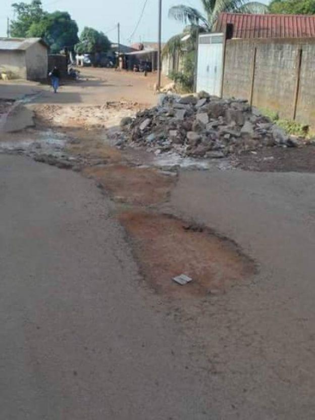 Le quartier cosa dans la commune de Ratoma Conakry