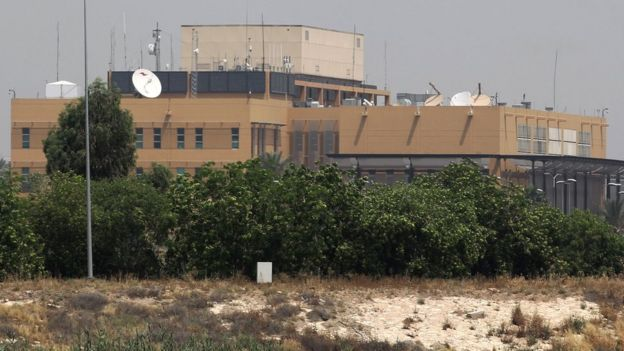 US embassy compound in Baghdad (20 May 2019)