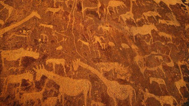 أحد المواقع الأثرية في نامبيا.