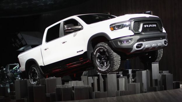 Fiat Chrysler Automobiles (FCA), introduce the 2019 Ram 1500 pickup truck