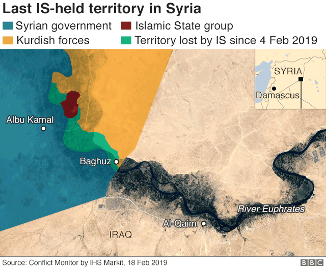 Islamic State group in Syria: Final assault on jihadists