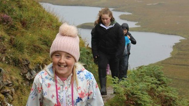 Pupils on trip to Wester Ross
