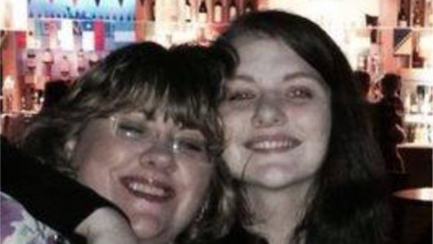 Lisa Squire with daughter Libby