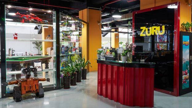Una oficina de Zuru