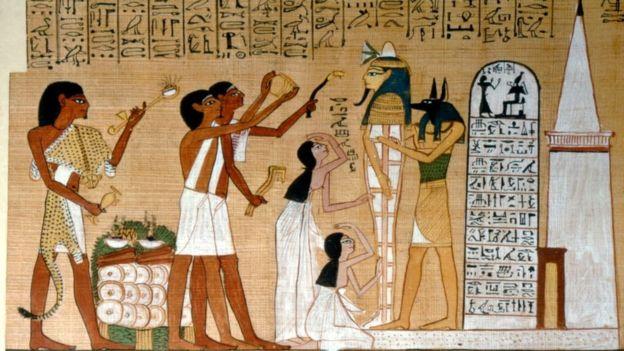 Фараоны требовали, чтобы все жители исправно платили налоги