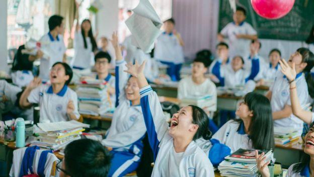 Çinli öğrenciler