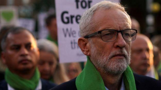 جرمی کوربین، رهبر حزب مخالف دولت بریتانیا