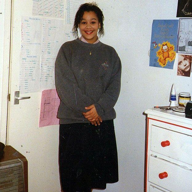 Naomi Jacobs adolescente