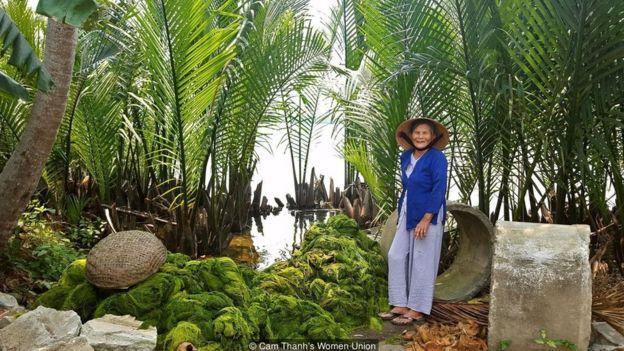 Dừa nước là loại cây duy nhất thuộc họ cọ thích nghi được ở môi trường nước mặn