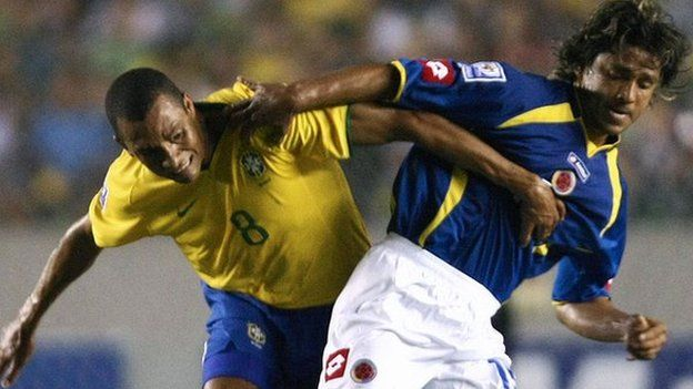 Gerardo Bedoya y Gilberto Silva