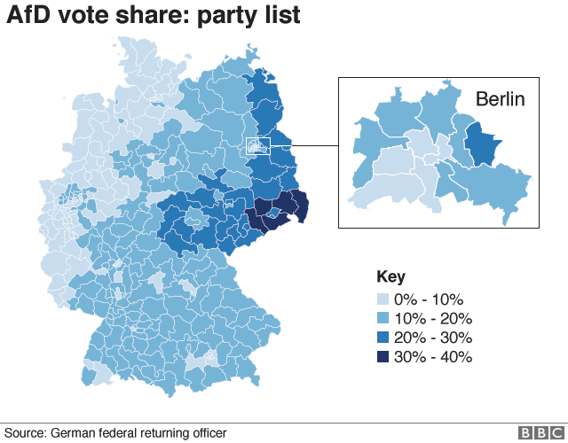 German Election Why This Is A Turning Point BBC News - Bbc us election map