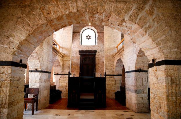 Antigua sinagoga en Sarajevo.